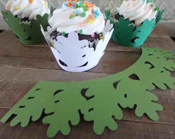 Cupcake Holders . Custom Cupcake Holders . Leaf Cupcake Holders . Birthday Cupcake Holders. Cupcake Wrappers