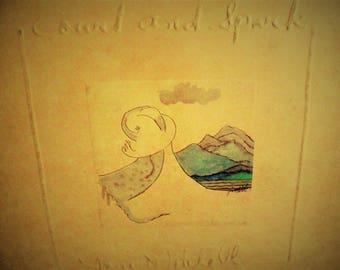 "Joni Mitchell - 1973/1974 ""Court And Spark"" - vinyl LP"