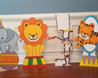 ONE (1) 2ft Circus Animal Cutout/Prop/Standee