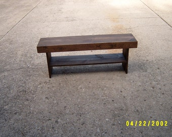Bench, Wooden Bench, Coffee Table, Dining Bench, Wood Furniture, Wood Bench, Reclaimed Wood, Hallway Bench, Furniture, Tv Stand, 36""
