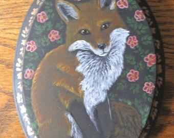 Rosegarden Fox Painting