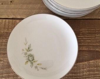 Vintage Wyndham Japan Melrose Bread & Butter Appetizer Tapas Plates