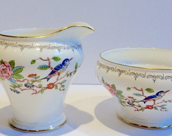 Aynsley MILK JUG only Pembroke  vintage fine bone china English crockery afternoon tea china search replacements