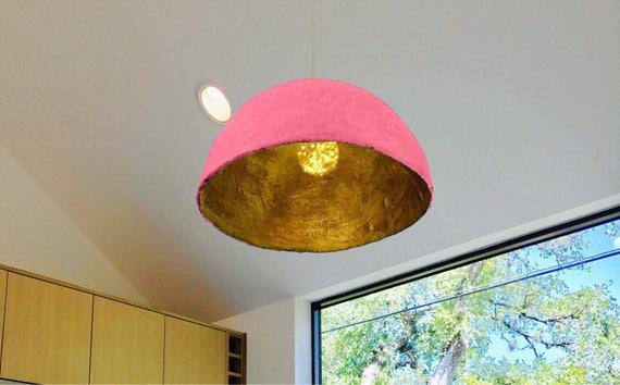 Moderne Lampenschirm Pendelleuchte Papier-Pappmaché-Lampe