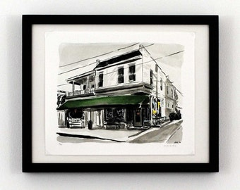 Joe's Inn - The Fan, Richmond, Virginia - Giclee Print