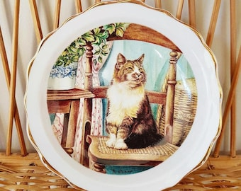 Small Cat Plate