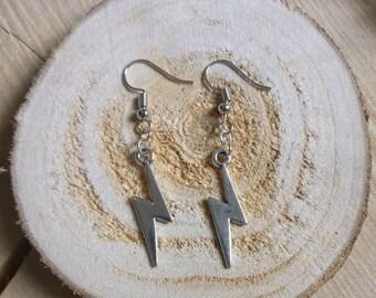Earrings Lightning