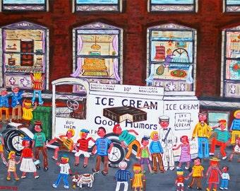 Good Humor Truck-Brooklyn Ice Cream, Ice Cream Truck