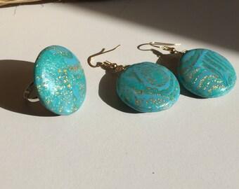 Set turquoise,possibili comprare separato