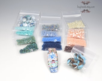 Inspiration Kit #17, Polymer Clay, Crystals