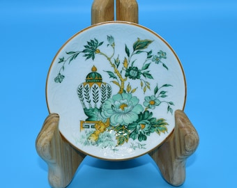 Crown Staffordshire Kowloon Butter Pat Dish Vintage Hard to Find China Discontinued Replacement England Fine Bone China Butter Pat Plate