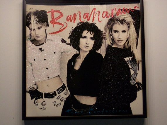 Glittered Record Album - Bananarama