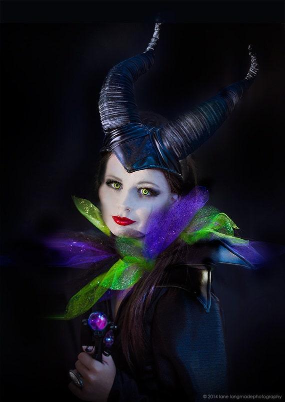 Maleficent Halloween Costume Kids