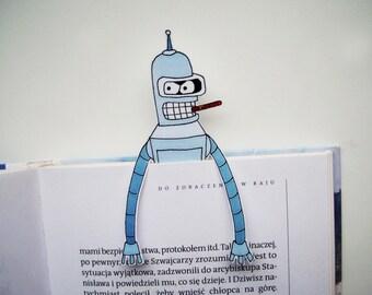 Bender bookmark, last minute gift