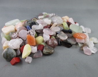 1/4 lb Tumbled Stones - Bulk Stones, Rocks and Minerals, Earth Energy, Natural Healing Crystals, Bulk Crystals, Positive Energy (T186)