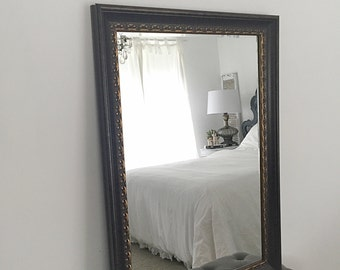 French Country Wall Mirror, Large Farmhouse Mirror, Ornate Mirror