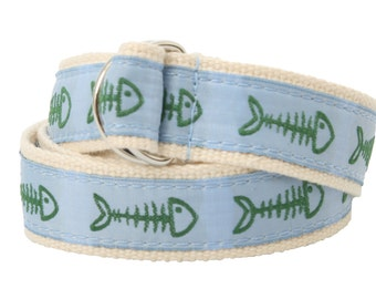 Bean Belts Boys Preppy Bonefish Belt- For Babies, Toddlers & Kids - Fully Adjustable