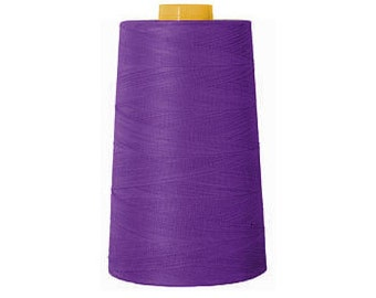 Purple Overlock Poly Thread 6000 Yards