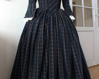 Outlander inspired Tartan dress
