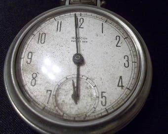Unworking Westclox Dirty Pocket watch