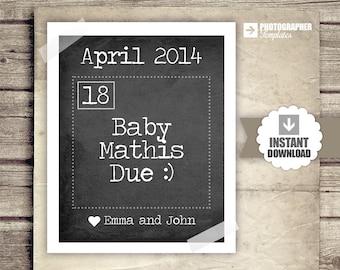 free printable birth announcement templates