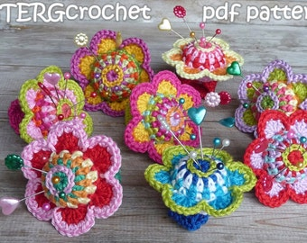 Crochet pattern pincushion ring by ATERGcrochet