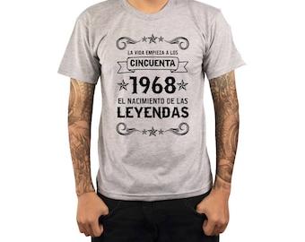 anniversary gift, birthday gift, 50 years tshirt, fifty years gift, father anniversary, husband anniversary, birthday tshirts, legend gift