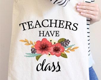 Teacher Tote Bag - Teacher Tote - New Teacher Tote Bags - New Teacher Gift - Teacher Gift - Gift for New Teacher - Tote Bag for Teachers