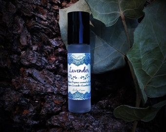 Organic Lavender Essential Oil Roll-On Scent