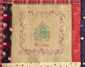 Christmas Tree Cross Stitch PDF Pattern