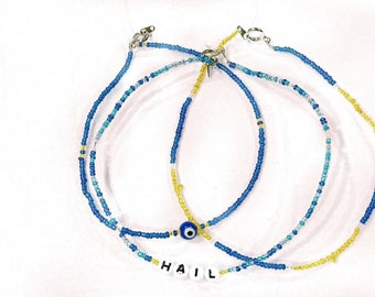 University of Michigan Game Day necklaces