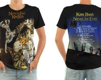 KATE BUSH never for ever shirt all sizes