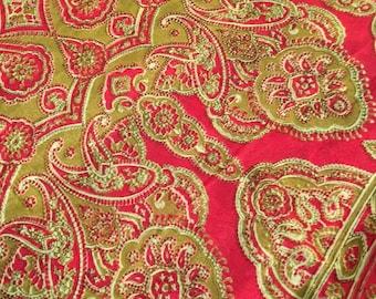 Pure Silk Sari, Gorgeous shimmery Cream with gold/taupe/brown/pink SILK Sari, gorgeous and flowy SARI, printed silk