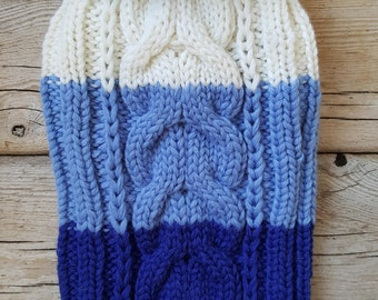 Hand Knitted Sweater for Dogs-Chihuahua sweater-Pet Sweater-Dog Costume-Size S