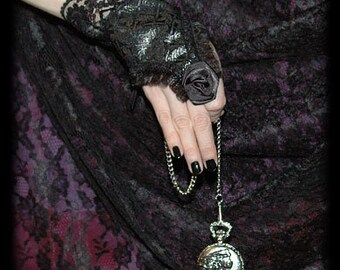 Lace Rose gloves