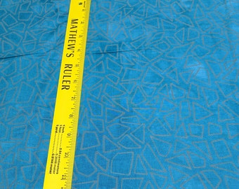 Riverwoods Collection-Underground Blues-Geometric Cotton Fabric from Troy