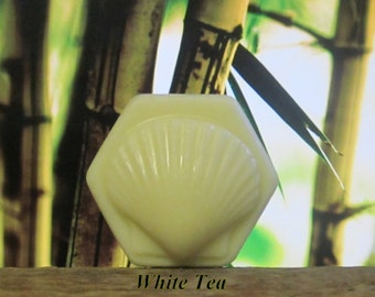 White Tea Organic Solid Lotion Bar 100% Natural - Large 4 oz.
