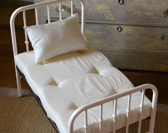 Mattress and Pillow Set for Child Photoprop Bed