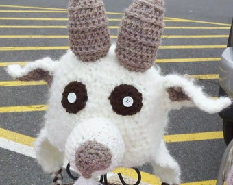 Billy the Crochet Goat hat