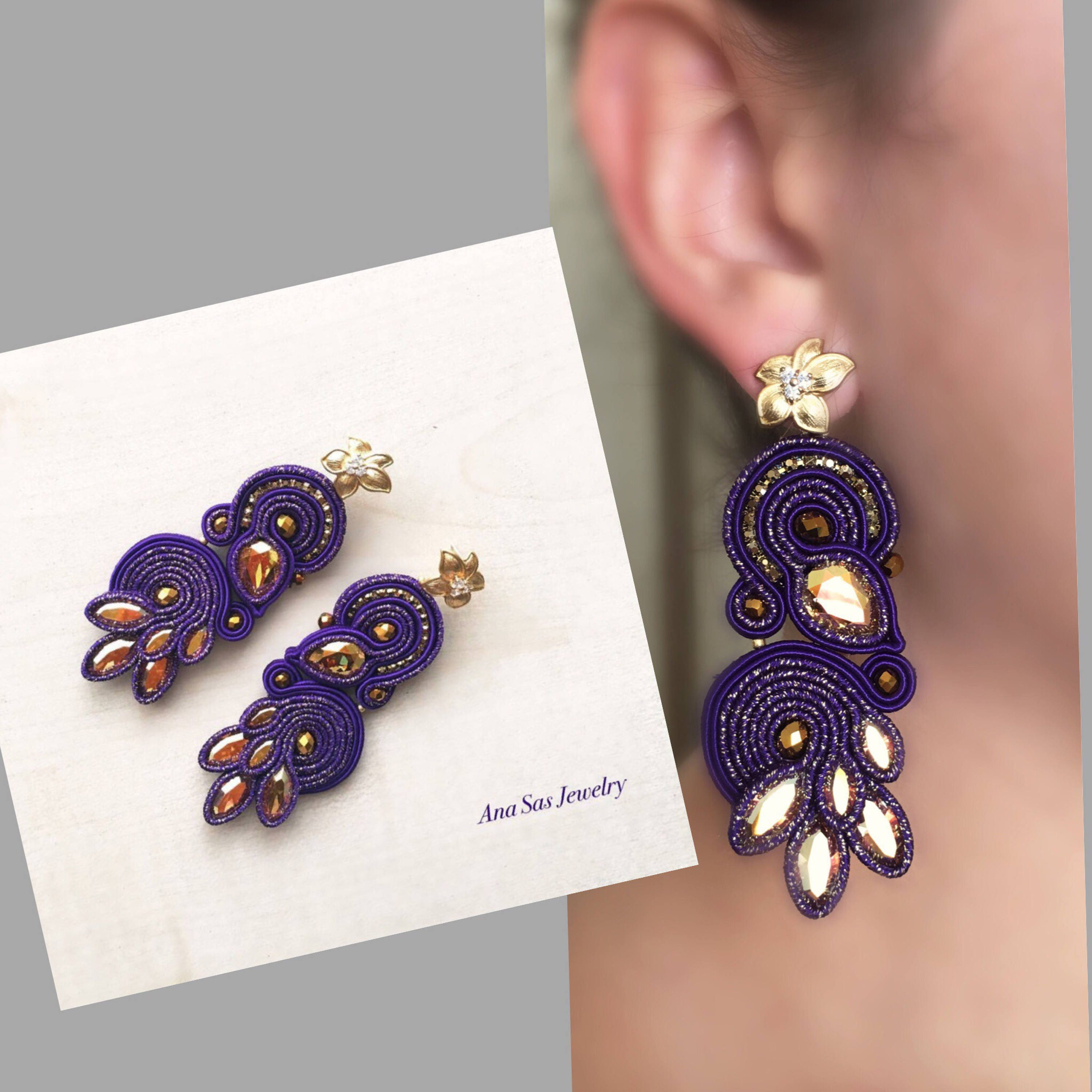 am purple amethyst flower wg kiki gold earrings white product eden mcdonough and