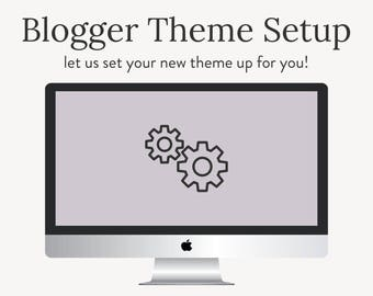 Blogger Template Installation and Setup