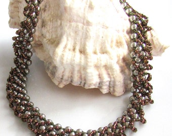 PNINA Necklace Exclusively PDF Necklace Beading tutorial for personal use only