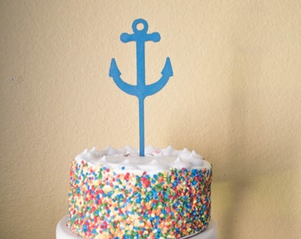 Anchor birthday cake Etsy