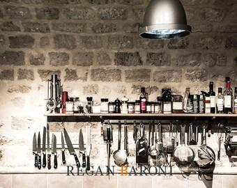 Travel Photography, Vintage Paris Restaurant, Kitchen Art, Home Decor, Wall Art, Paris, Restaurant Art, France