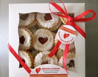 Original Austrian Linzer Tart Cookies for the Ultimate Cookie Lover - 17 oz