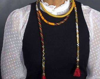 The Sahara XL Wrap Necklace / Belt
