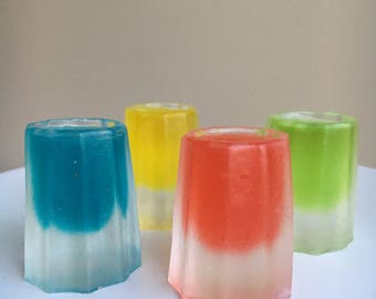 Jelly shooter Soaps
