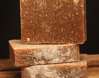 Oatmeal Milk and Honey - Exfoliating Handmade Milk Cold Process Soap