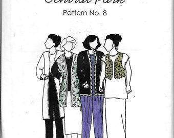 Park Bench Pattern Co. No. 8 Central Park Jacket Top Vest Skirt Pants Sewing Pattern UNCUT
