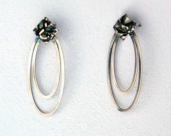 Mystere, Earrings, silver 925